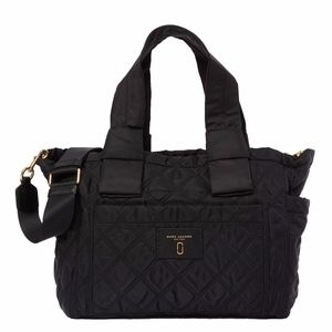 Marc Jacobs Diamond Quilted Nylon Baby Bag